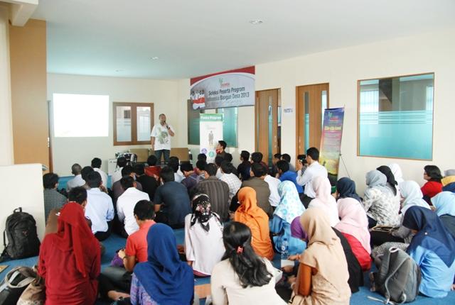 Seleksi Peserta / Foto : www.indonesiabangundesa.org