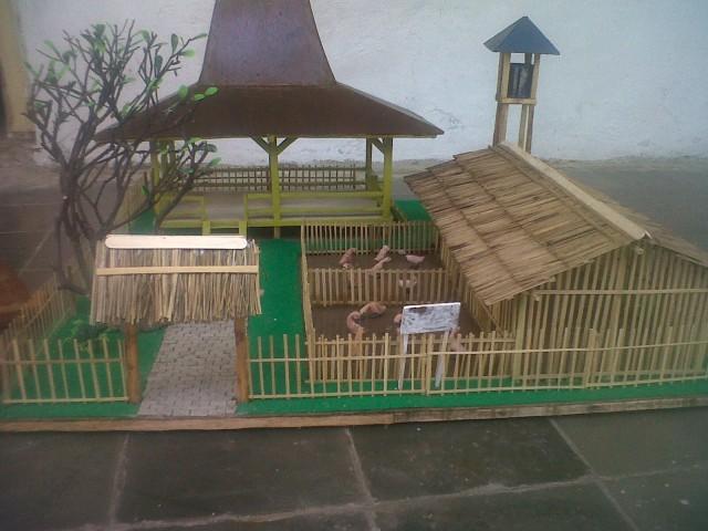Salah satu hasil kerajinan kayu Kelurahan Pesurungan Lor Kecamatan Margadana Kota Tegal / Teguh Murjianto