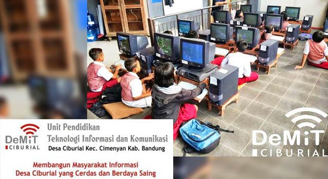 Sekolah Demit Ciburial - Foto : desapress.blogspot.com