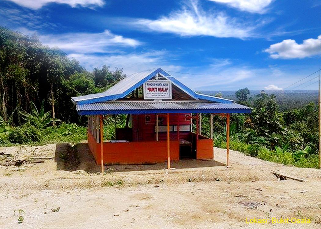 Lokasi Pondok Wisata Alam Bukit Osala di Desa Baruzo Kec. Sogaeadu Kab. Nias