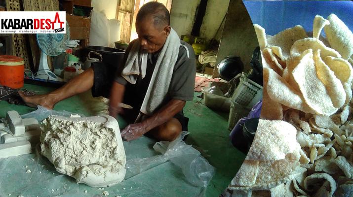 Pak Suwardi, Perajin Kerupuk Ampas Tahu Desa Kalisari