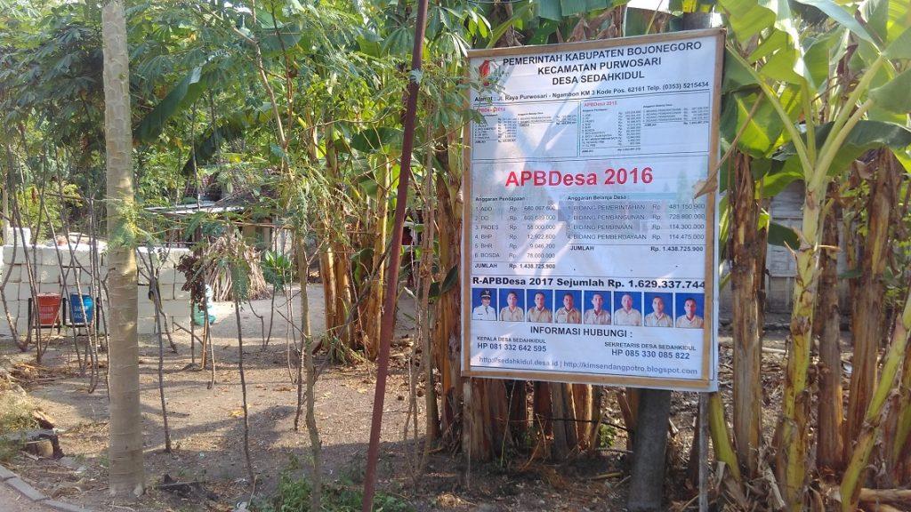 Lokasi : Pencol (RT.07&08) Desa Sedahkidul Kecamatan Purwosari Kabupaten Bojonegoro