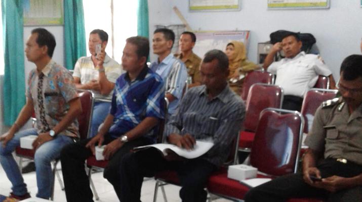 Konsultasi Publik/Sosialisasi AMDAL (Analisis Mengenai Dampak Lingkungan) yang dilaksanakan di Kantor Kelurahan Bagan Pete, Kecamatan Alam Barajo, pada Selasa, 26 Juli 2016