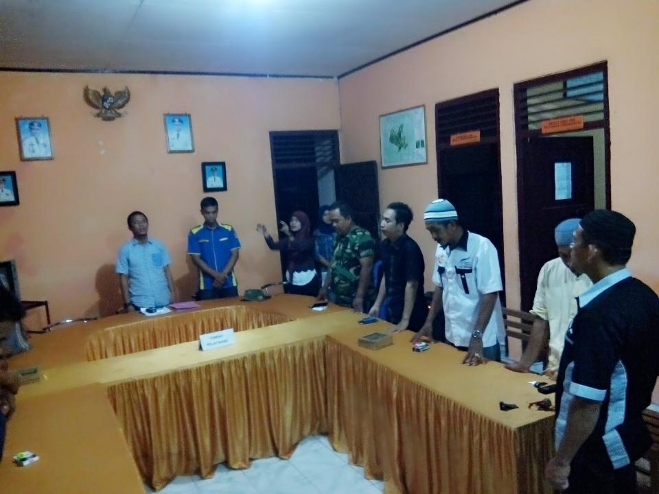 Pelantikan kepengurusan baru Karang Taruna TANETE JAYA