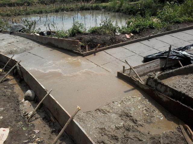 Progress Pembangunan Dana Desa / Foto : Agum