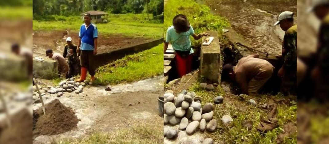 Kegiatan Pembangunan Di Desa/Foto: Helmi