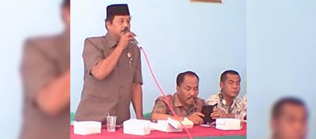 Anggota Komisi I DPRD Kabupaten Tegal, Drs.Ahmad Sayuti (foto: Darojat)