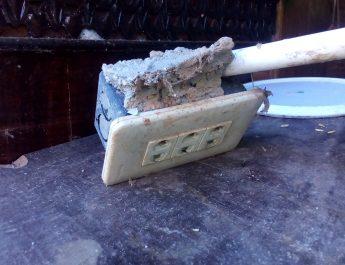 Gempa Pidie : 2 Rumah Warga Rusak Ringan, 60 Meter Talud Jalan Ambruk di Gampong Cot Baroh
