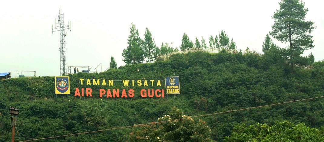 Taman Wisata Air Panas GUCI / Foto : kpm.tegalkab.go.id