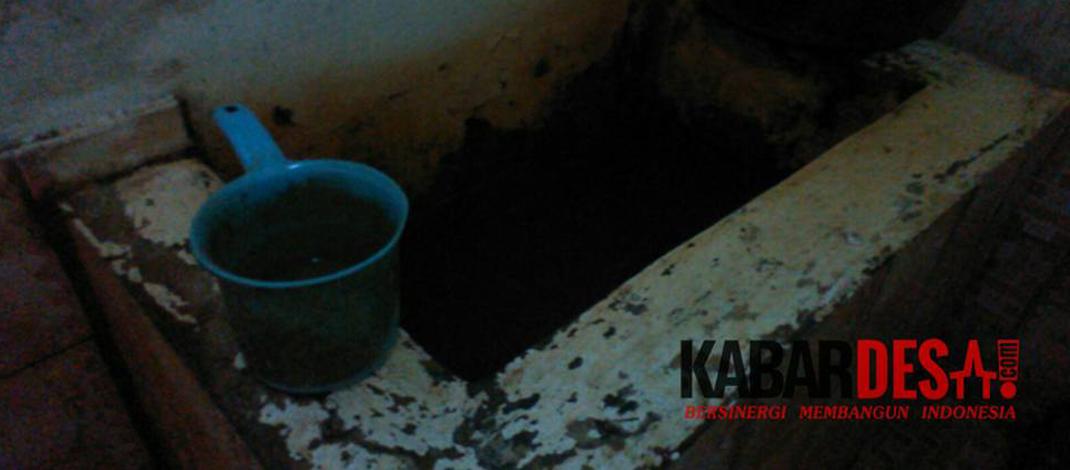 Inilah air yang digunakan keluarga ini sehingga menimbulkan penyakit kulit.