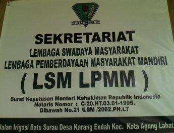 LSM LPMM Kawal Persiapan Pembangunan Desa