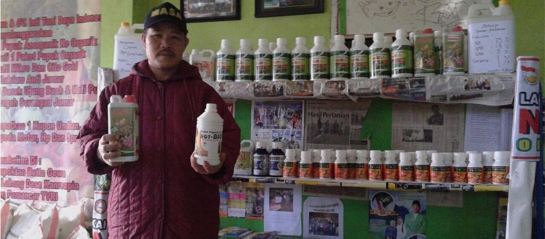 Toko Tani Organik Desa Kanreapia Siapkan Kebutuhan Pupuk Organik