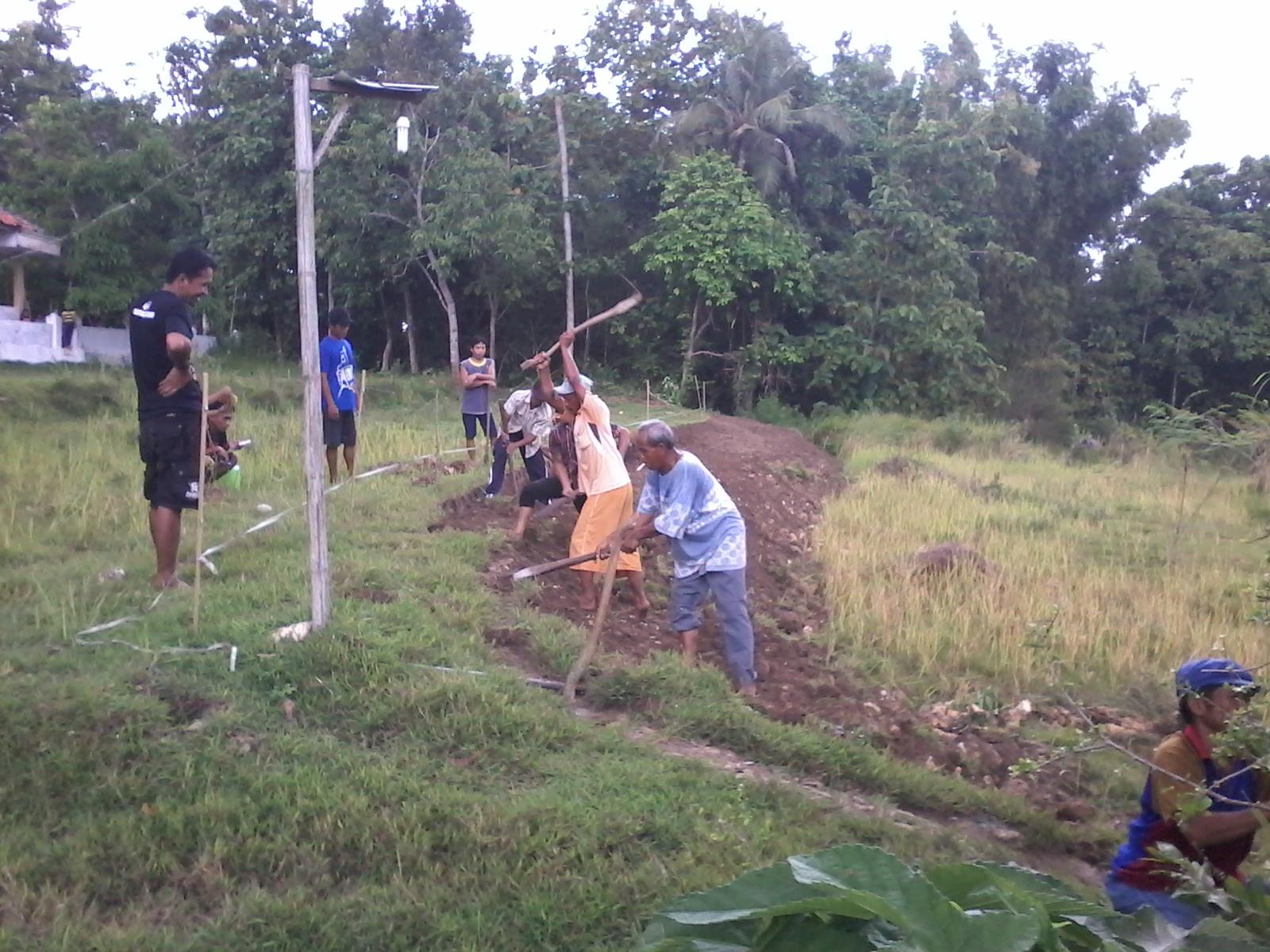 Pembangunan yang terus bergulir di Desa Pakaan Dajah