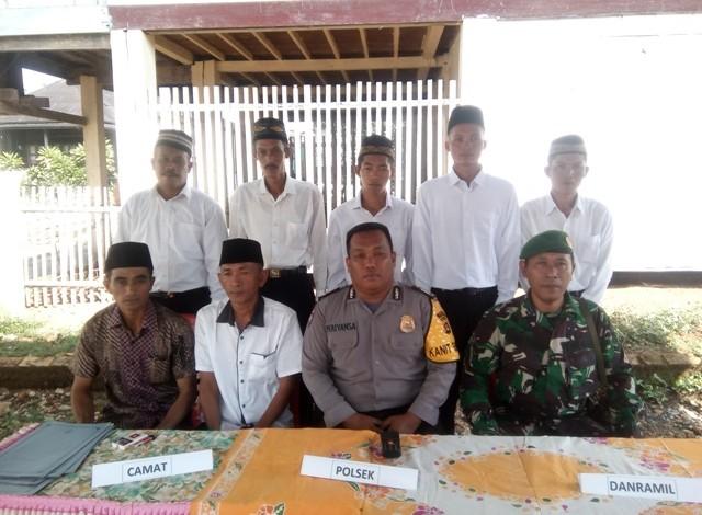 Lantik Perangkat Baru, Desa Pandan Arang Ulu Maksimalkan Pelayanan