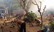Warga Desa Kradenan Kompak Gotong Royong