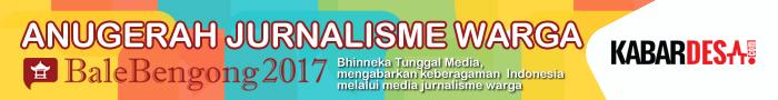 Anugerah Jurnalisme Warga BaleBengong 2017