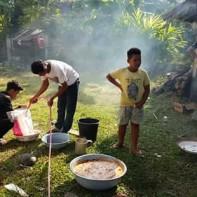 Masyarakat Gampong Sawiet mengadakan Kenduri Rakya