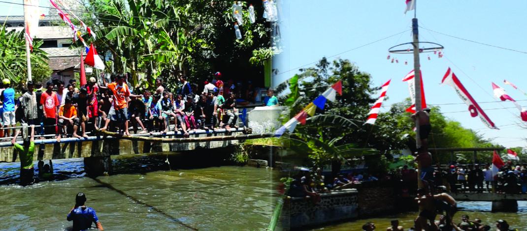 Desa Raci Adakan Istighosah dan Perlombaan Memperingati Hari Kemerdekaan RI ke-72