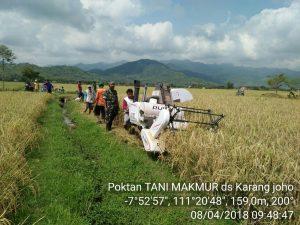 Poktan Tani Makmur Desa Karangjoho