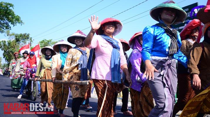 Karnaval Desa Sabranglor - Foto 11
