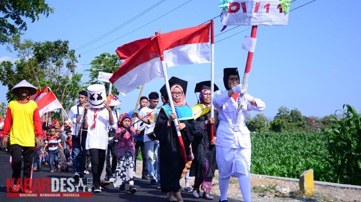 Karnaval Desa Sabranglor - Foto 3