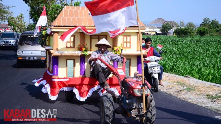 Karnaval Desa Sabranglor - Foto 4