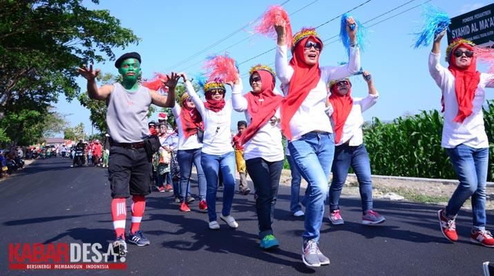 Karnaval Desa Sabranglor - Foto 5