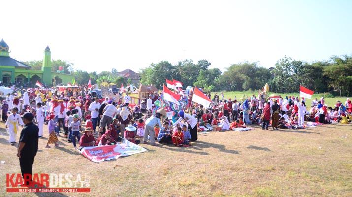 Karnaval Desa Sabranglor - Lapangan